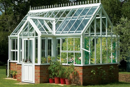 English conservatory greenhouse garden greenhouse for House plans with conservatory
