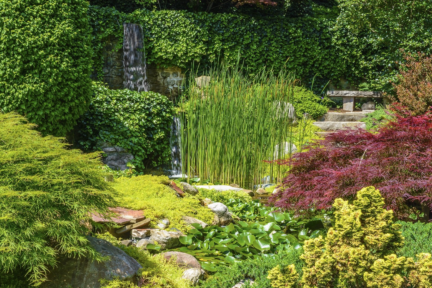 Creating japanese gardens inspiration tierra este 71226 for Creating a japanese garden