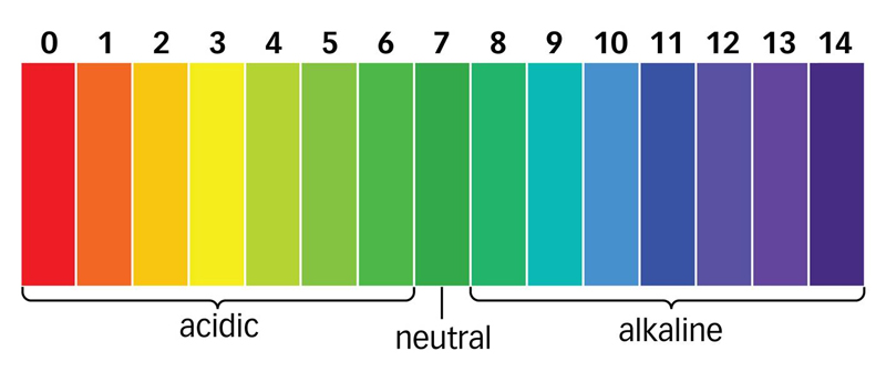 how the ph scale affects the Soil ph measures soil acidity/alkalinity on a scale of 0-14, with 7 being neutral  higher numbers indicate alkaline soil while lower numbers.