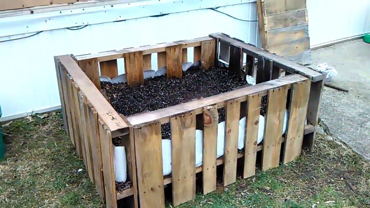 Pallet Raised Garden Bed Garden Ftempo