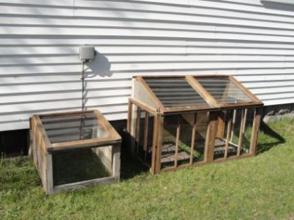 The Benefits Of Using A Cold Frame Garden Greenhouse