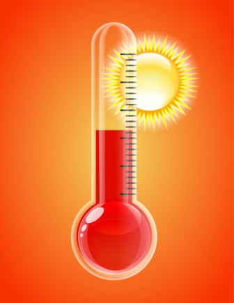 Orchid Heat Thermometer